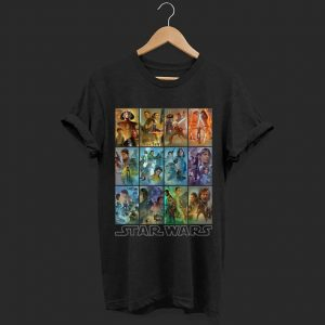 Star Wars Celebration Mural Art Panels shirt