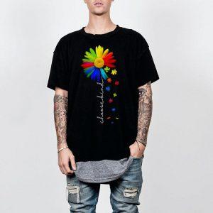 choose kind Autism awareness daisy flower shirt