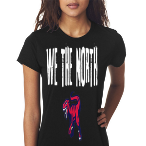 We the north Toronto Finals NBA velociraptor shirt 2
