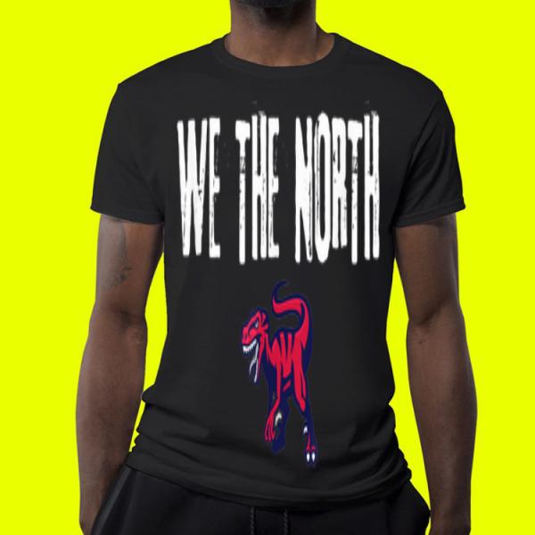 We the north Toronto Finals NBA velociraptor shirt