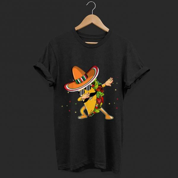 Dabbing Taco Cinco De Mayo Mexico Latino shirt