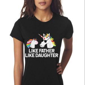 Dad And Daughter Unicorn Fathers Day shirt 2