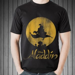 Disney Aladdin Magic Carpet Silhouette shirt
