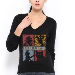 Father of Cats shirt 2