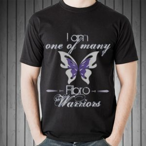 I Am One Of Many Fibro Warriors butterfly