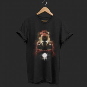 Iron Man painting shirt
