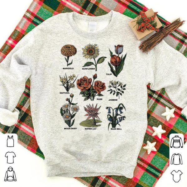 Plant flower Botanical vintage shirt