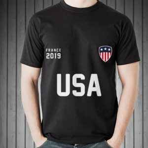 USA 2019 France Soccer Football shirt 1