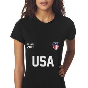 USA 2019 France Soccer Football shirt 2