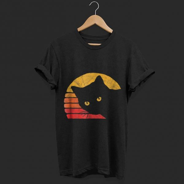 Vintage Eighties Style Cat shirt