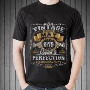 Vintage May 1979 All Original Parts shirt 1