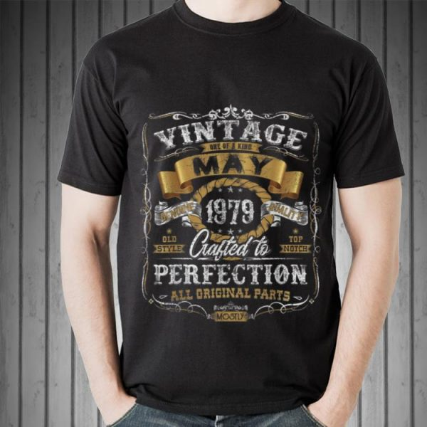 Vintage May 1979 All Original Parts shirt