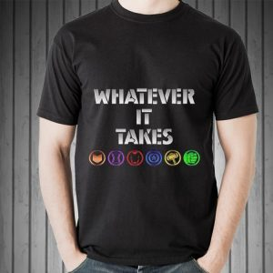 What ever It Takes End Game Avenger Icons shirt