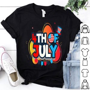 4th July with uncle sam hat independence day shirt