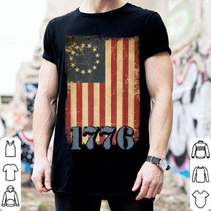 4th Of July American Flag 1776 Retro shirt