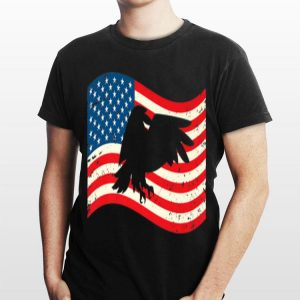 4th Of July Bald Eagle Usa Flag shirt