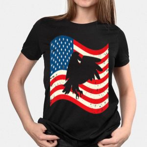 4th Of July Bald Eagle Usa Flag shirt