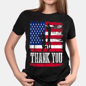 4th Of July Veterans American Flag shirt
