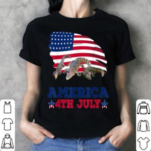 American 4th Of July Independence Day Alligator shirt