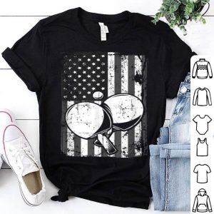 American Flag Ping Pong Paddle Father Day shirt