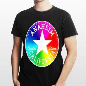 Anaheim California United States Surfer Rainbow shirt
