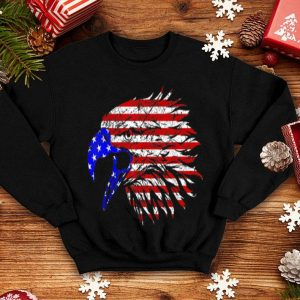 Bald Eagle American Flag 4th July Independence Day shirt