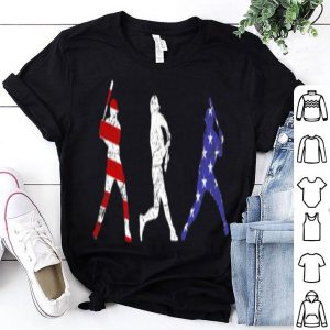 Baseball 4th Of July Red White And Blue USA Flag shirt