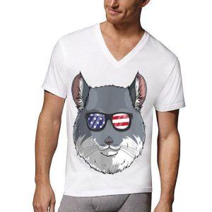 Chinchilla Patriotic Usa 4Th Of July American shirt