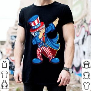 Dabbing 4th Of July Uncle Sam American shirt