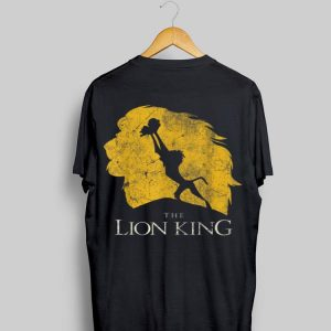 Disney Lion King Rafiki Simba Pride Rock Graphic shirt