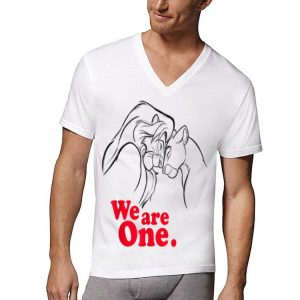 Disney Lion King Simba and Nala We are One Love shirt