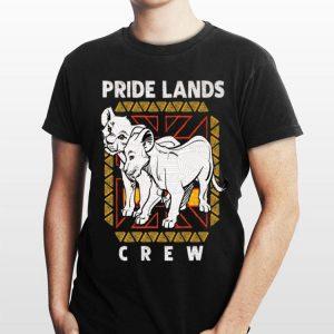 Disney The Lion King Live Action Simba Nala Pride Lands Crew shirt