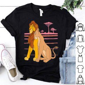 Disney The Lion King Simba and Nala Love shirt