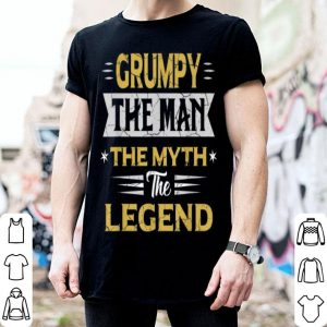 Father Day Grumpy The Man The Myth The Legend shirt