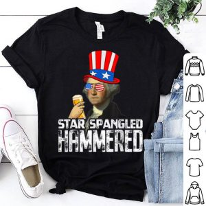 George Washington Hammered 4th Of July Beer shirt