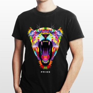 LGBT Nyc World Pride 2019 Rainbow Lion shirt