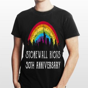 Lbgtq Rights Stonewall Riots 50th Nyc Gay Pride shirt