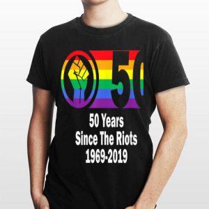 Lgbtq Gay Pride Stonewall Riots Anniversary shirt