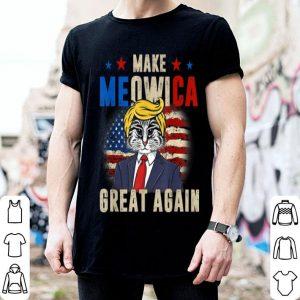 Make Meowica Great Again Trump 4th of July shirt