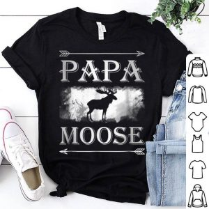 Papa Moose Father Day shirt