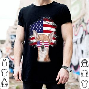 Patriotic American Flag Chihuahua shirt