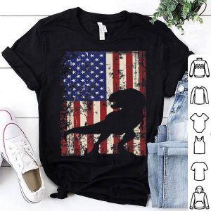 Patriotic Dinosaur 4th Of July American Flag shirt