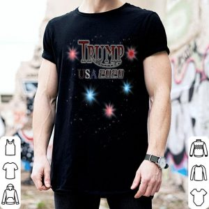 Trump Usa 2020 4th Of July Independence Day Fireworks shirt