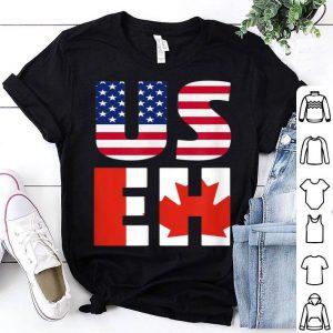 USEH America Canada Flag American Canadian shirt