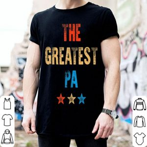 Vintage Retro The Greatest Pa Father's Day shirt