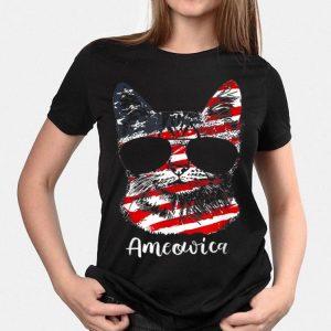 Ameowica Ameowica Usa American Cat shirt