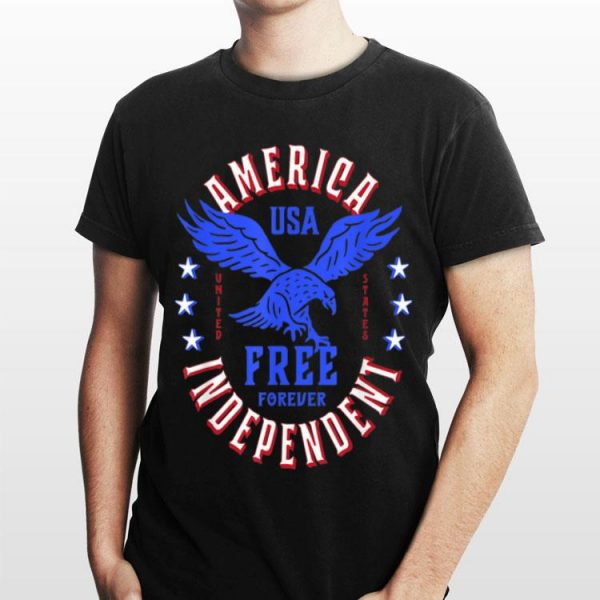 American Eagle Usa July 4Th Patriotic shirt