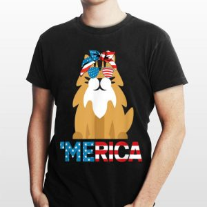 American Flag Norwegian Forest Cat 4th Of July Cats shirt