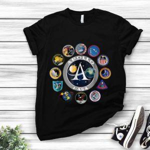 Apollo Missions Patch Badge Nasa American Circle Logo hoodie