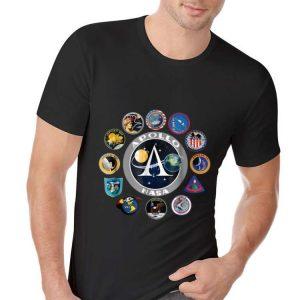 Apollo Missions Patch Badge Nasa American Circle Logo hoodie 1